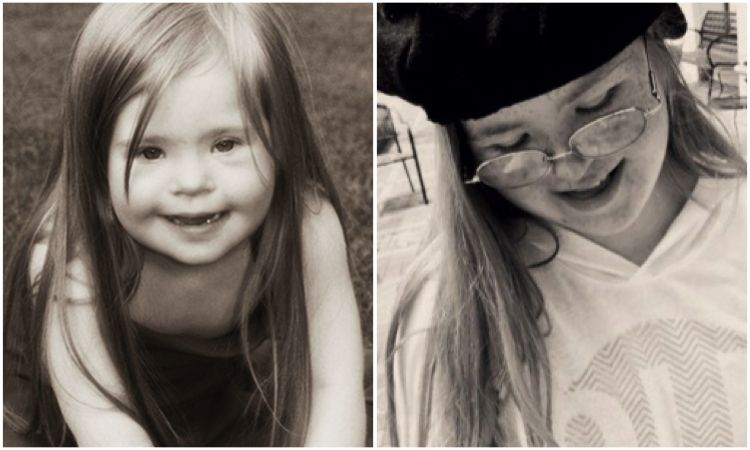 Sydney: Age 5 and Age 17