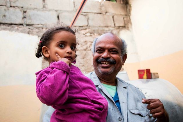 Ashley Hamer Mohammed Abu Bokar, a shop owner who named his ice-cream shop after his granddaughter Amira (pictured), traveled with his entire family from Yemen to Somaliland.