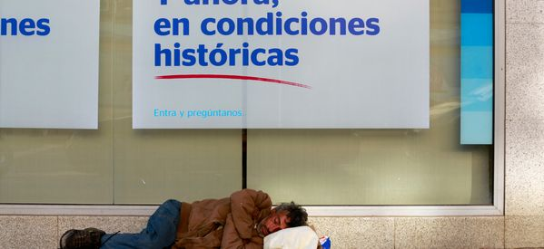 A Night On The Streets With Madrid's Homeless