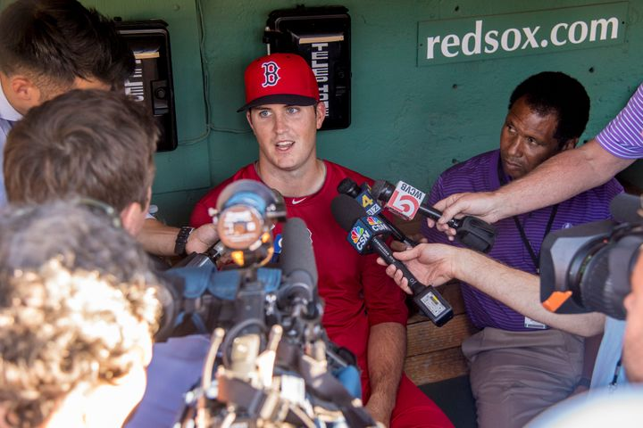 """My agent called me earlier in the day and said something might go down with the Red Sox,"" Pomeranz told HuffPost. ""I w"