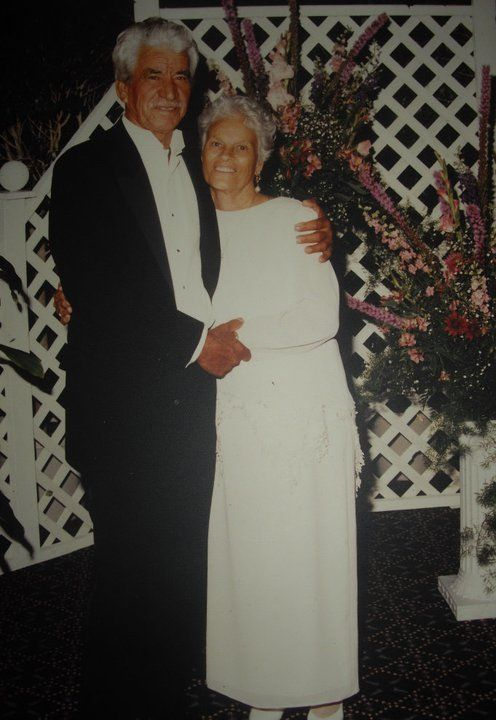 My beloved late grandparents, Manuel Ruiz and Macaria Flores de Ruiz.