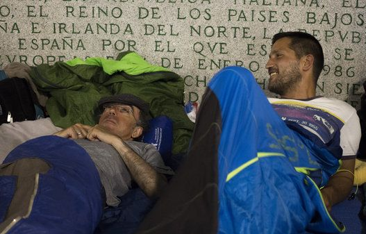 Some of Madrid's homeless says they prefer the streets to the city's shelters.