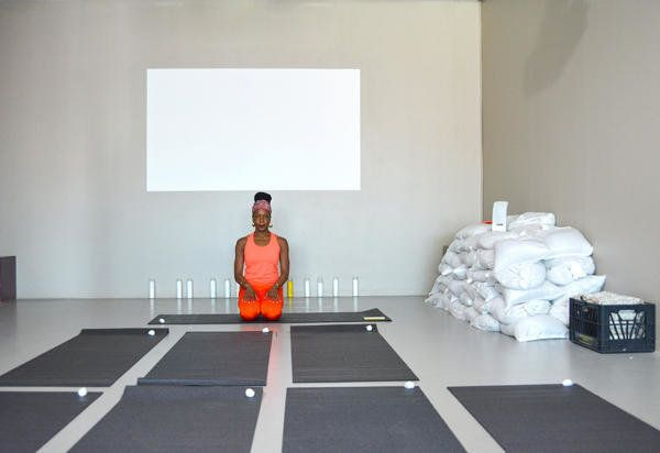 Simone Leigh: The Waiting Room,€ 2016, Afrocentering with Aimee Meredith Cox, Courtesy New Museum, New York