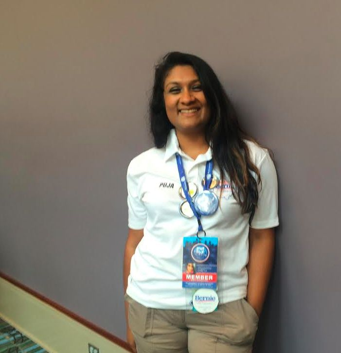 Puja Datta, 28, is working full time while trying to get her degree at the same time. It'stiring, but I don'€™t think e