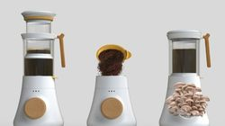 This Coffee Maker Design Doubles As A ... Mushroom