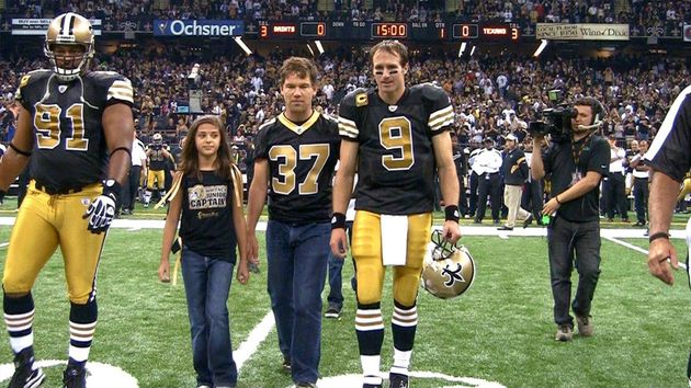 Watch A Saints Player With Als Record A Sweet Video Message