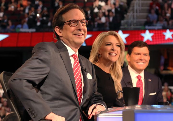"""Fox News Sunday"" host Chris Wallace says he tried for 15 months to get Clinton on his show."