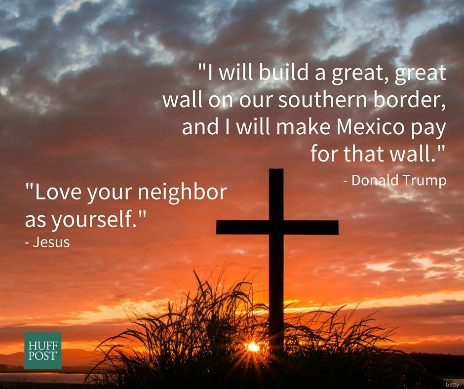 "<a href=""http://biblehub.com/mark/12-31.htm"">Jesus</a>: ""Love your neighbor as yourself.""<br><a href=""http://www."