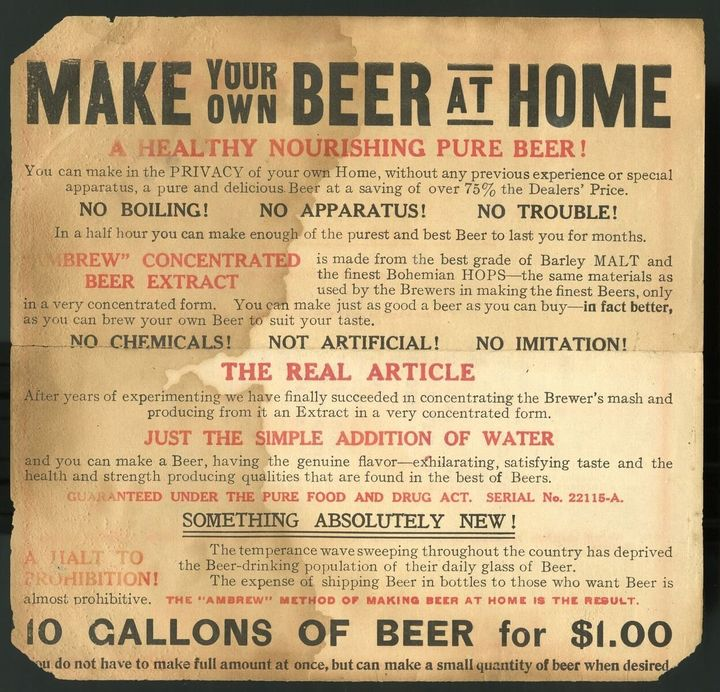 Advertisement for malt extract, circa 1900.