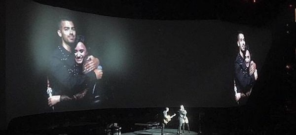 Joe Jonas Surprises Demi Lovato Onstage With 'Camp Rock' Duet