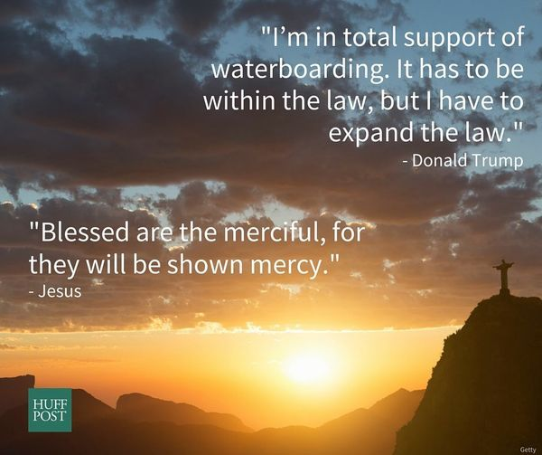 "<a href=""http://biblehub.com/matthew/5-7.htm"">Jesus</a>: ""Blessed are the merciful, for they will be shown mercy.""<br><a href"