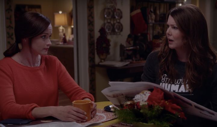 Amy Schumer later tweeted that she would, in fact, be friends with Lorelai Gilmore.