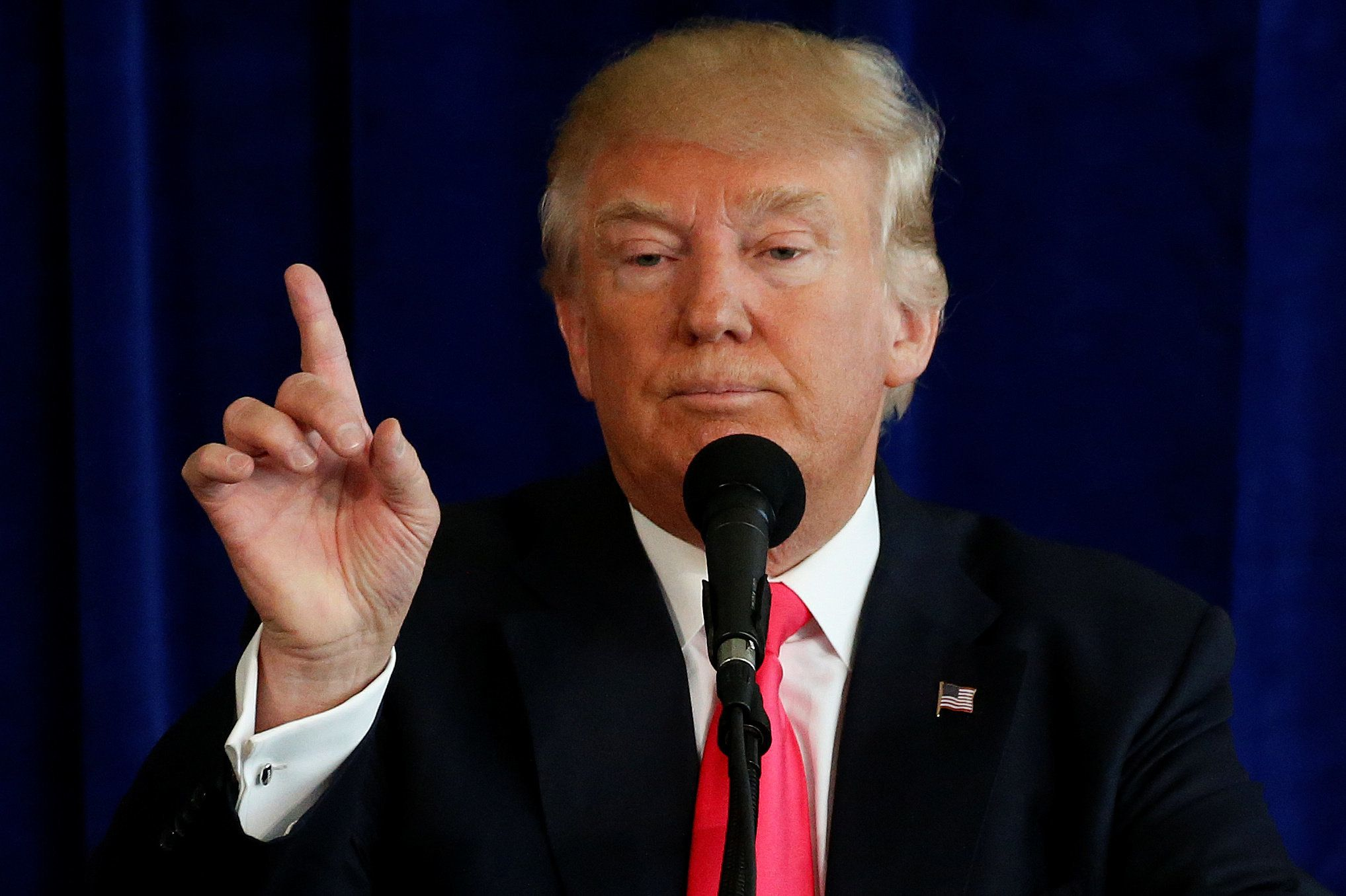 GOP presidential nominee Donald Trump is repeating rhetoric Russia has used against the U.S.