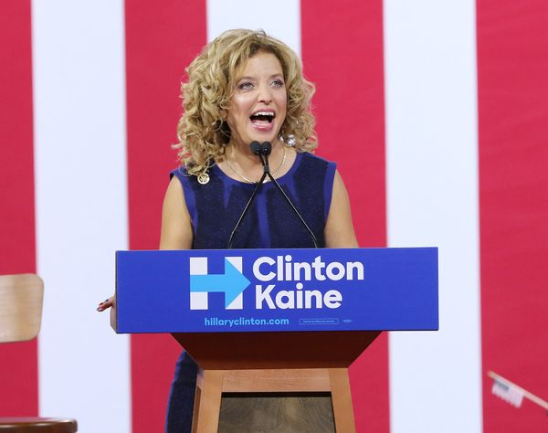 """Former DNC chairwoman Wasserman Schultz was once a promising leader in the Democratic party. But <a href=""""http://www.huffingt"""