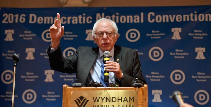 The Senate minority leader thinks Bernie Sanderswasn't treated right.