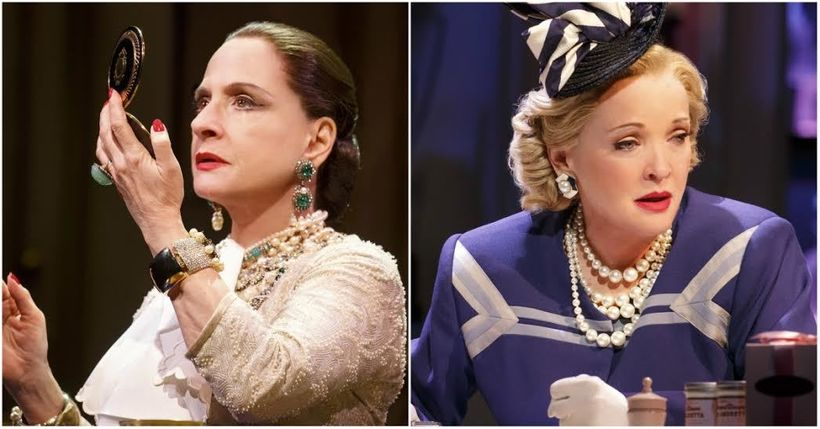 "Patti LuPone and Christine Ebersole in ""War Paint"""
