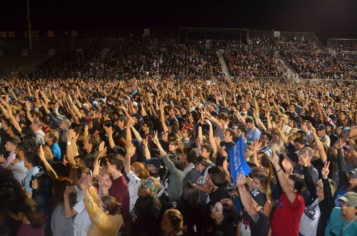 Bernie Rally in Sacramento May2016