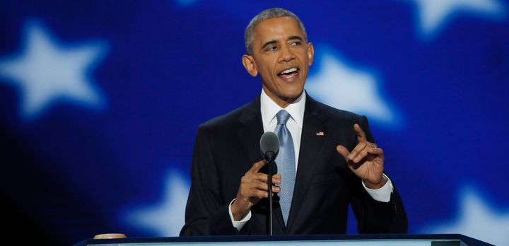 Obama questioned the ability of GOP presidential nominee Donald Trump to protect Americans.