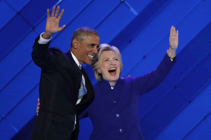 President Barack Obama made his case for Hillary Clinton for president Wednesday night.