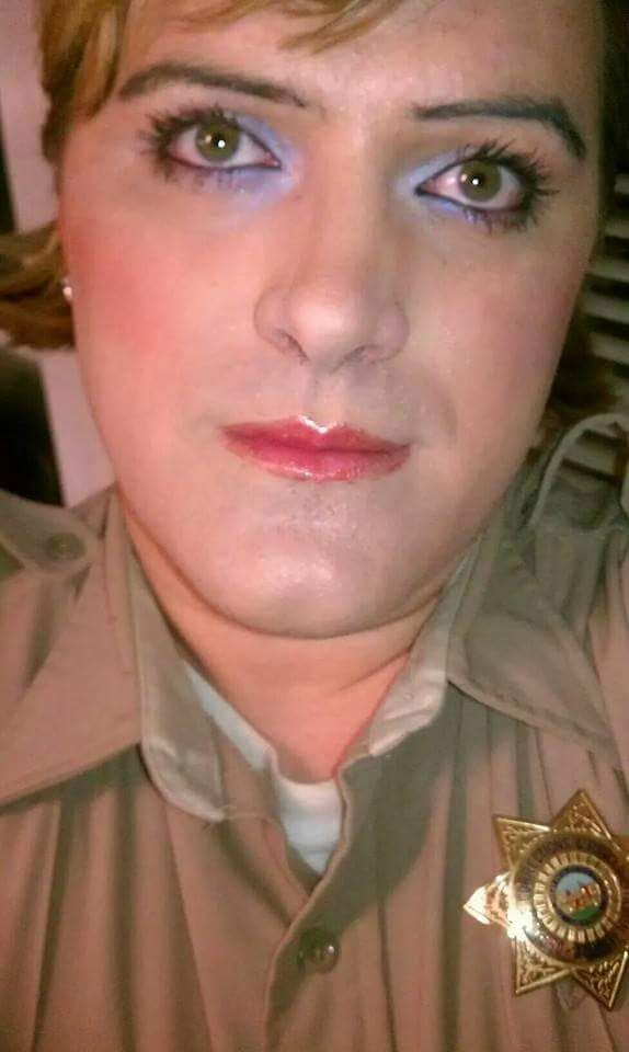 Pictured Above: The author in 2012 at San Quentin; first day as a female officer.