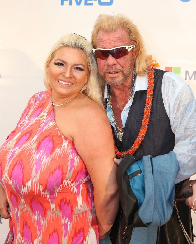 Beth withhusband and fellow 'Bounty Hunter' co-star