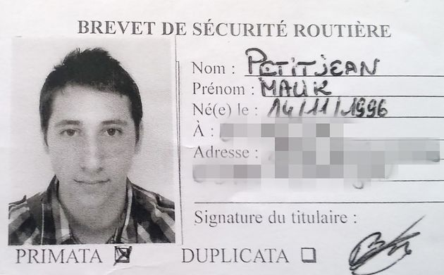 Abdel Malik Petitjeanwore an electronic bracelet and was awaiting trial for alleged membership...