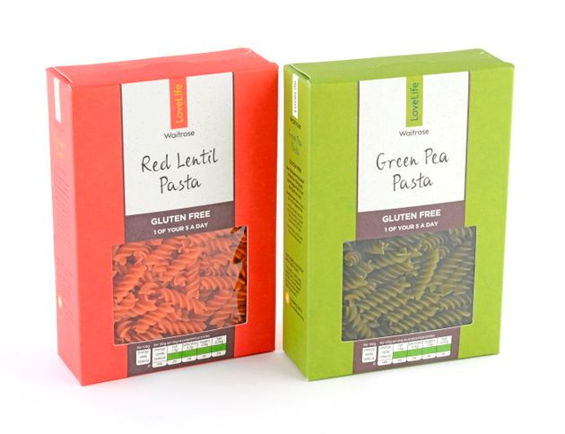 Nutritious and ethical: Waitrose's new gluten-free pasta will go on sale on