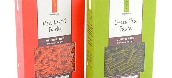 Waitrose's New Pasta Range Comes In Boxes Made From Food Waste
