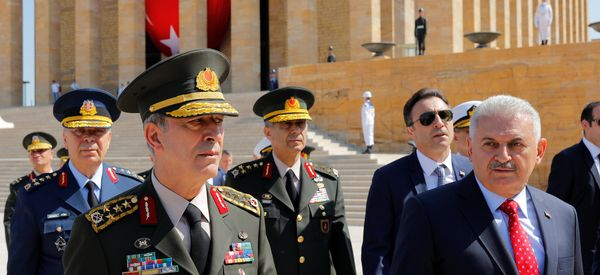 Turkey Launches Major Purge Of Armed Forces After Failed Coup