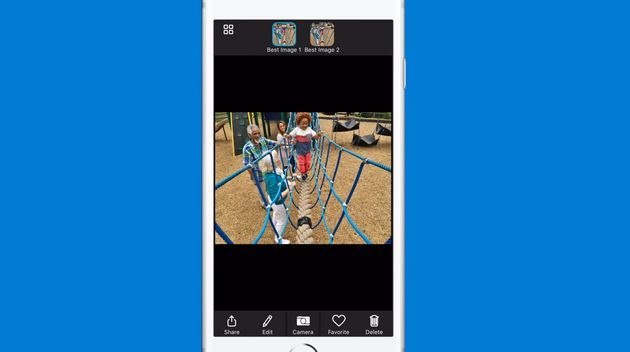 Microsoft's New iPhone Camera App Uses Artificial Intelligence To Take The Best
