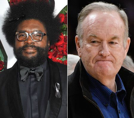 Questlove schools O'Reilly on slavery.