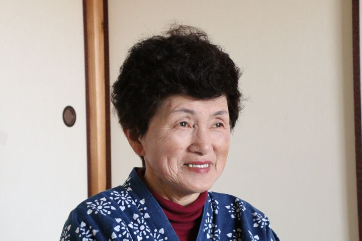Miyoke Oe is one of the fewpeople left in Takahara, Japan.