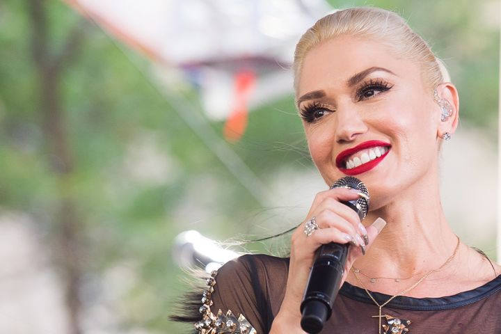 "Gwen Stefani performs on NBC's ""Today"" show at Rockefeller Plaza on July 15 in New York."
