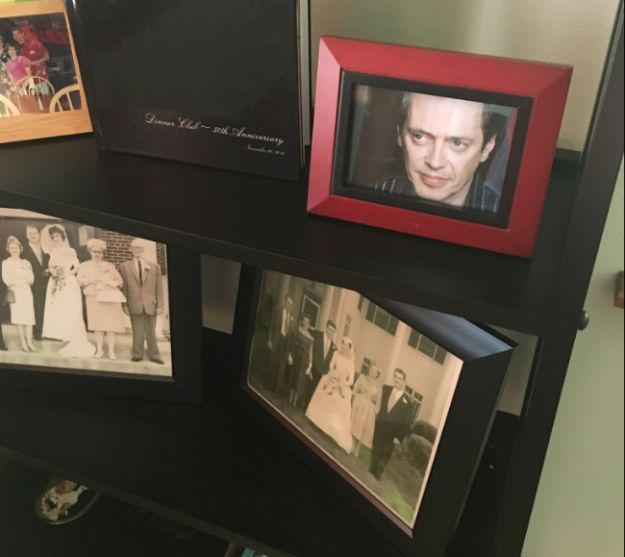 This Guy Secretly Swapped His Family Photos For Steve Buscemi