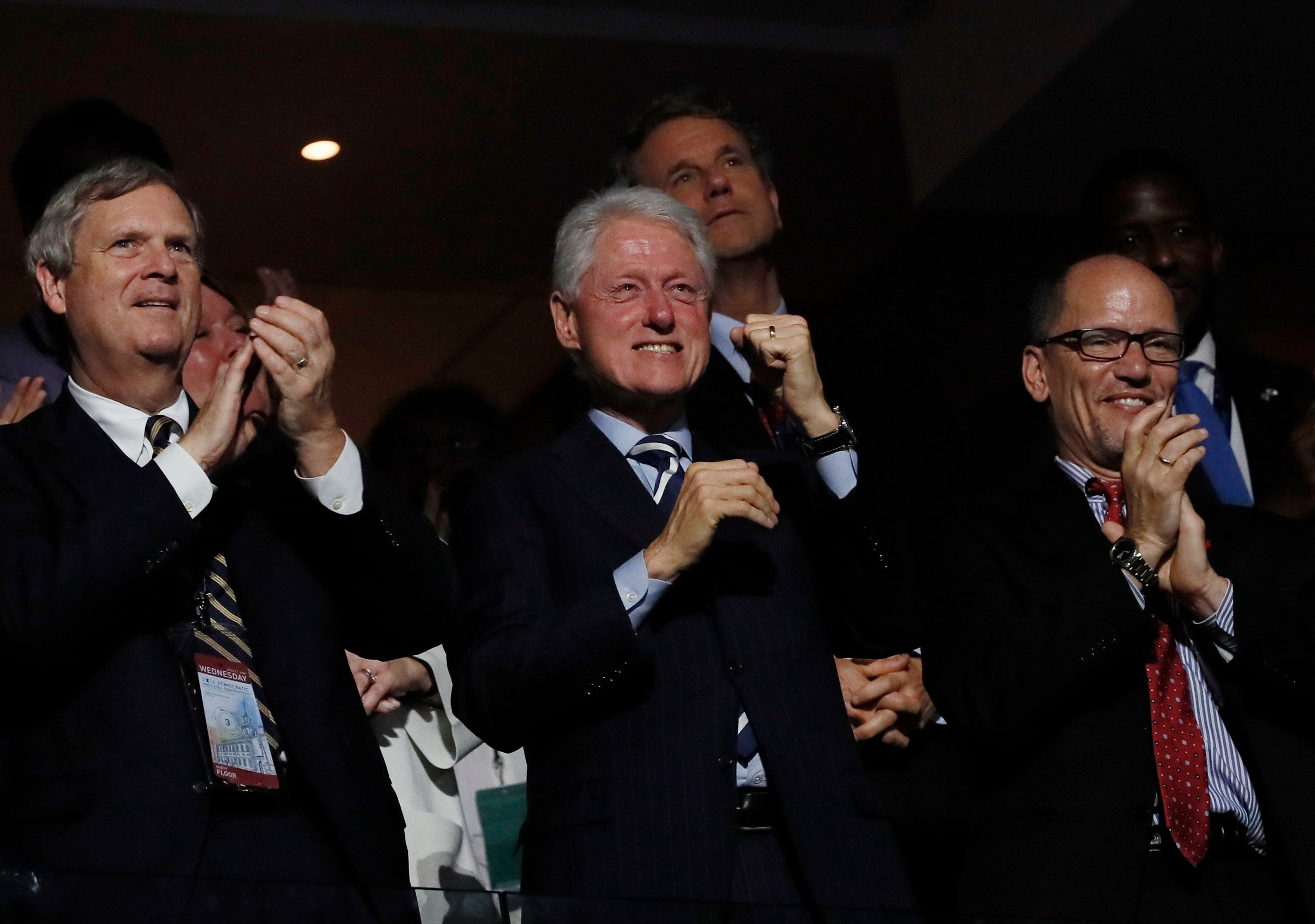 Former President Bill Clinton could become the country's first gentleman in the White House.