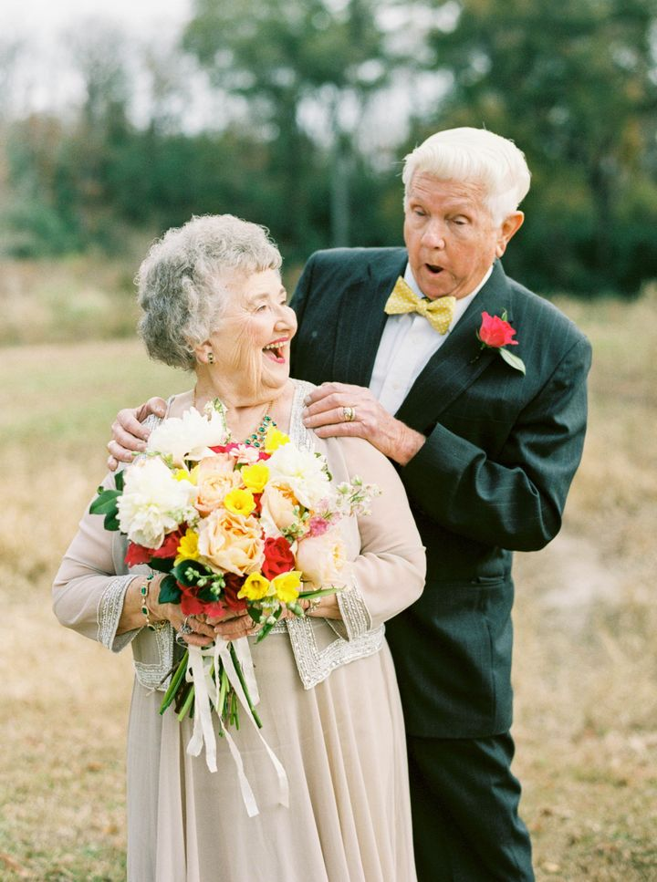 """They did the photo shoot at the couple's ranch. """"It's one of their most favorite and most cherished places to be,"""" their granddaughter said."""