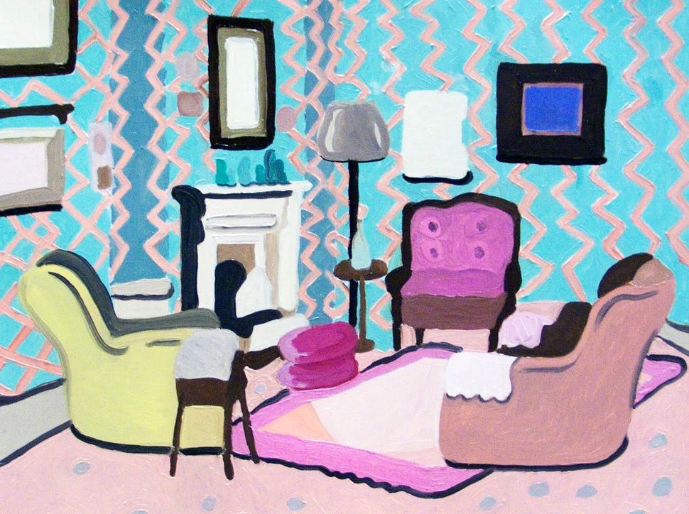 These Paintings Of '90s Sitcom Living Rooms Will Take You