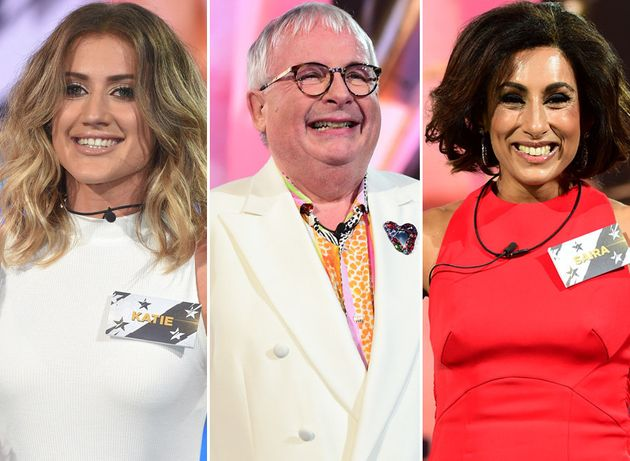 Katie Waissel, Christopher Biggins and Saira Khan have entered the 'CBB'