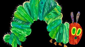 "Illustration from ""The Very Hungry Caterpillar"" © 1969 and 1987 by Eric Carle."