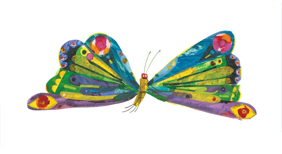 Illustration from <i>The Very Hungry Caterpillar</i>&nbsp;&copy; 1969 and 1987 by Eric Carle.