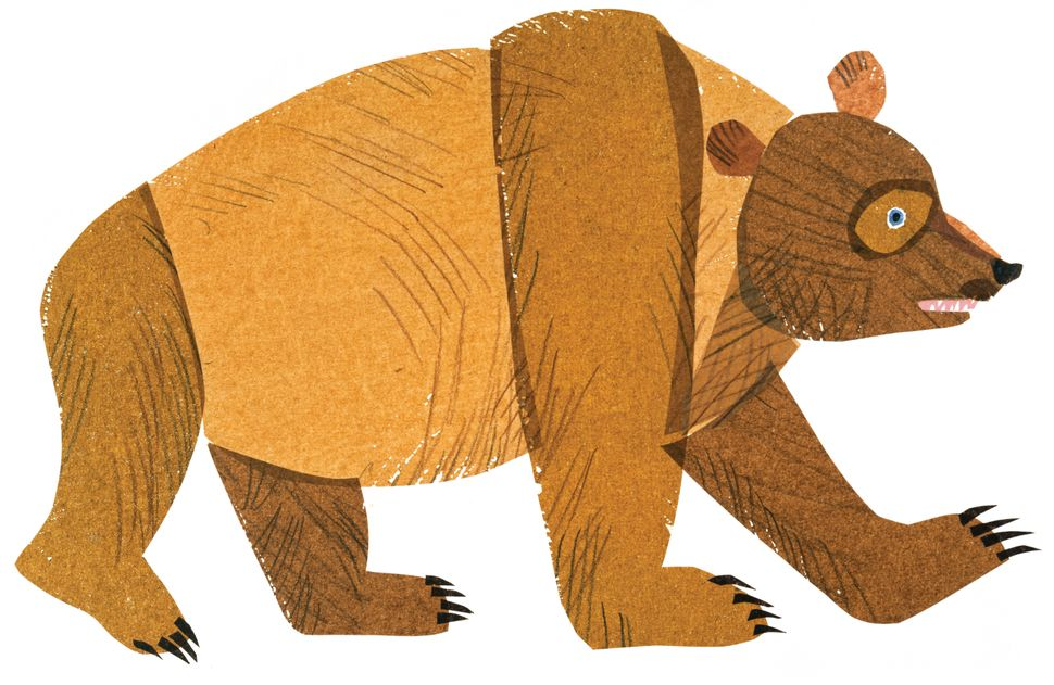 Illustration from <i>Brown Bear, Brown Bear, What Do You See?</i> © 1983 by Eric Carle.