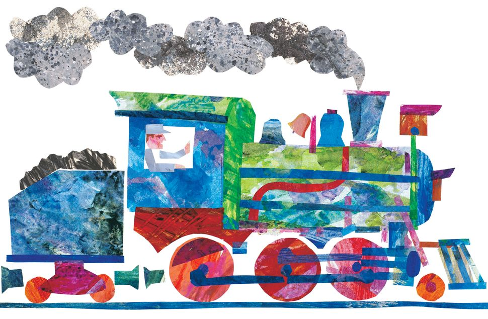 Illustration from <i>1, 2, 3 to the Zoo</i> © 1986 by Eric Carle.