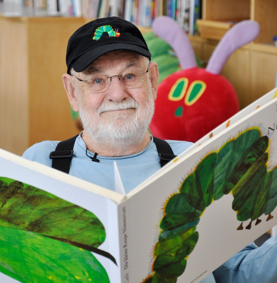 Eric Carle. Photo 2013 Kristin Angel © The Eric Carle Museum of Picture Book Art.