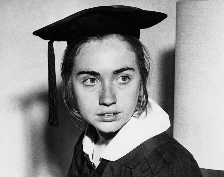 As a senior at Wellesley College in 1969, Hillary Clinton gave a commencement address that garnered national attention.