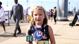 A young Hillary supporter explains why she is excited for the Democratic nominee.
