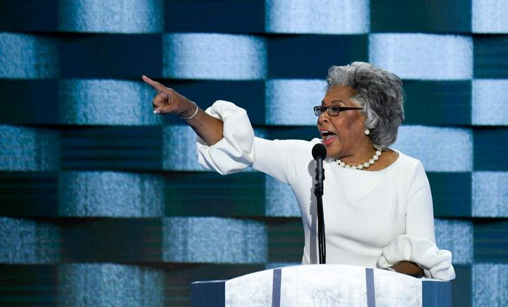 Rep. Joyce Beatty (D-Ohio) speaks at the Democratic National Convention.