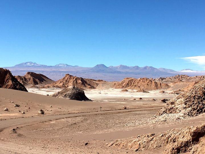 Life on Mars is similar to the Atacama