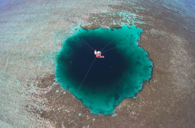 'Dragon Hole,' World's Deepest Blue Hole, Discovered In South China