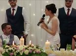 Bride Performs Vanilla Ice Rap At Wedding, Absolutely Nails It