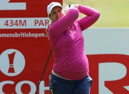 Golfer Liz Young Plays The British Open At Seven Months Pregnant